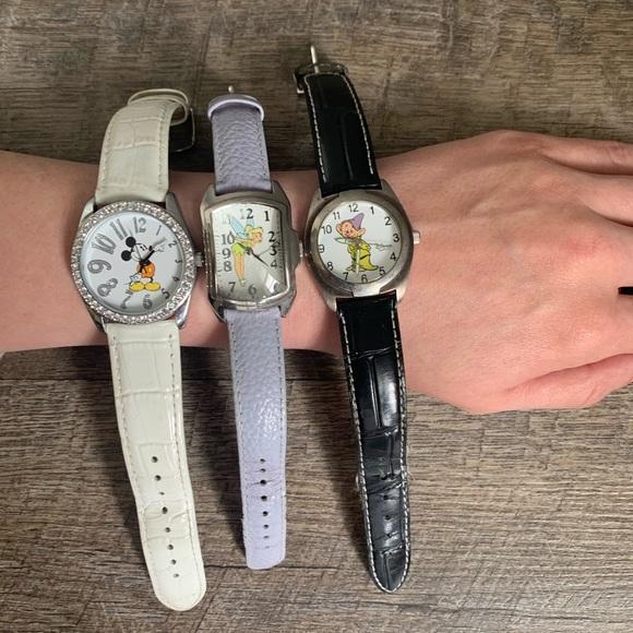 3 Disney Watches